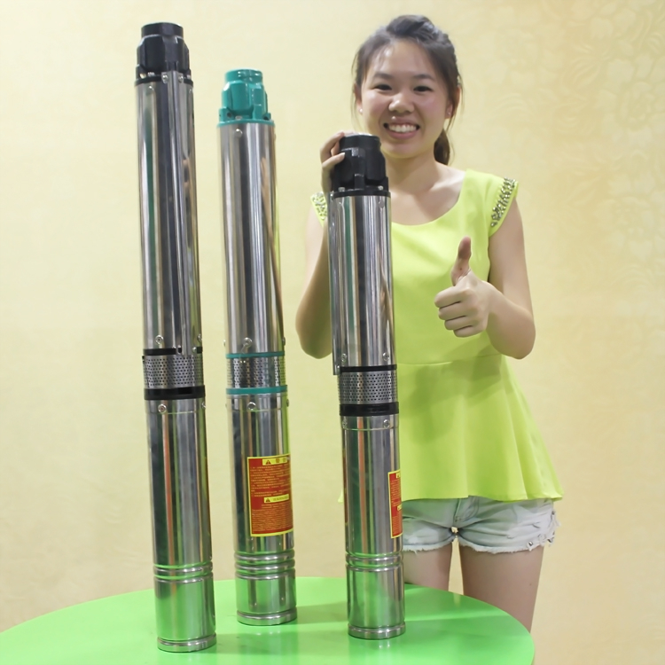 2 inch 3 inch diameter water submersible deep well pumps for field irrigation high efficiency well pump
