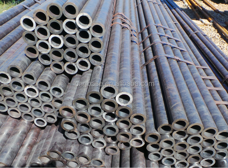 ASTM1045 hot rolled wall thickness seamless steel pipe from Liaocheng good supplier