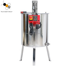 Beekeeping Stainless Steel Manual or Electronic 2,3,4,6,8,20,24,12 Frames Used Honey Extractor