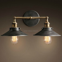Vintage industrial style wall light Reasonable outdoor lighting with Edison Light Bulb