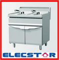 Stainless steel frying machine, gas/electric fryer machine, deep fryer