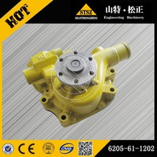 6261-61-1202 water pump for engine S6D140 excavator parts