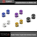 Colorful Steel wheel parts, Closed Ended Wheel Lug Nuts, wheel parts