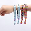 2017 Cheap Custom Woven Wristbands For