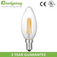 Chandelier led filament candle b15 led lamp