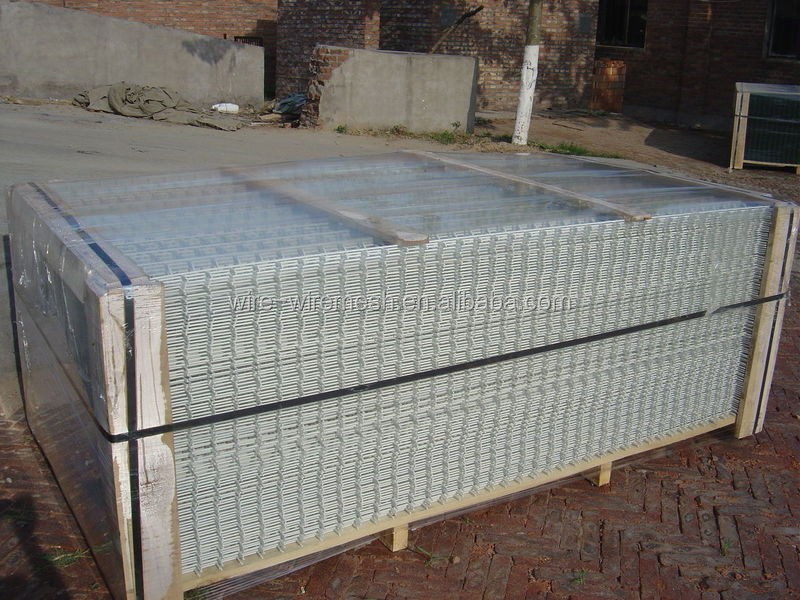 Galvanized welded wire mesh panel pvc and galvanised
