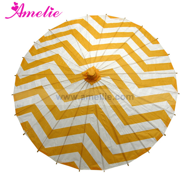 Custom Design Printed Beach Wedding Paper Umbrella