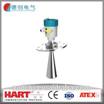 High Precision Used In Fly Ash,Solid Power Measurement Pulse Radar Type Level Transmitter/Grain Bin Level Sensor