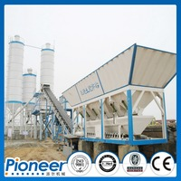 High Efficient 120m3/h Wet Mix Concrete Batching Plant with CE certification