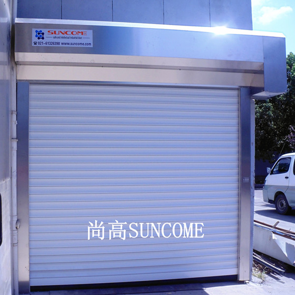 china safety aluminum automatic roller shutter door used