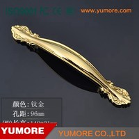 wholesale golden knobs and pulls for furniture handel