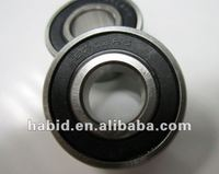Carbon Steel / Chrome Steel Deep Groove Ball Bearing 6202RS / 6202 ZZ
