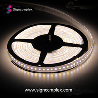 continuous length ip65 PU Glue Potted 110 volt led light strip