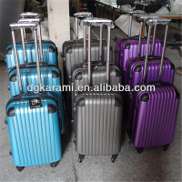 Cheap ABS PC luggage, trolley suitcase and bag factory for 2014