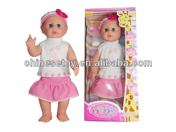 "18"" Grow Up Doll(Body growing up) 2Asst reborn doll kits"