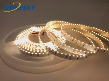battery powered lights for cars back light smd3014-156leds/m flexible tube diffuser ultra thin led strip