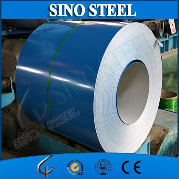 Akzo Nobel PPGI coated surface steel coil / PPGI / color coated galvanized steel sheet in coil