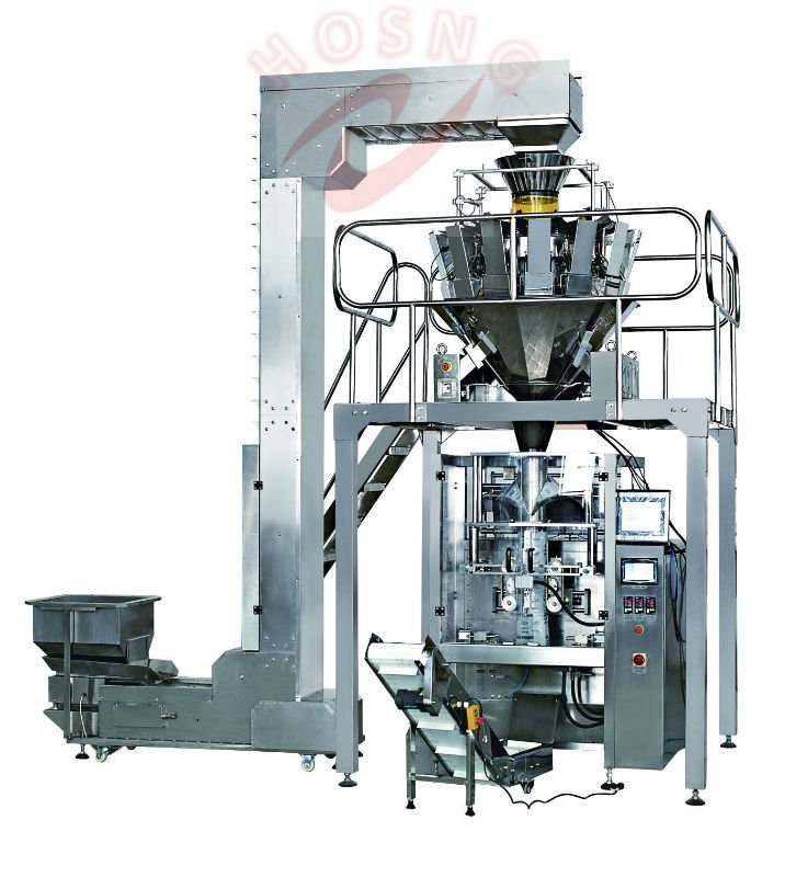 HS-720A Rice packing machine with 10 or 14 heads weigher