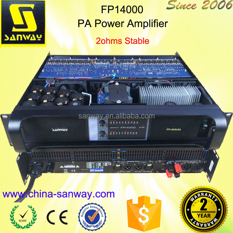 FP14000 2 Channel Brand name Professional Power Amplifier