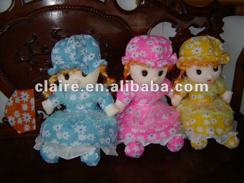 Lovely baby doll cloth doll dress doll