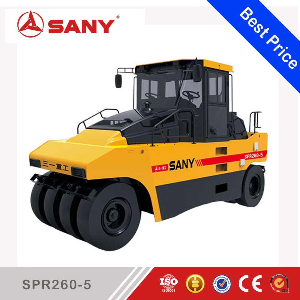 Sany SPR260-5 SPR Series 26ton Pneumatic Tire road Roller Machine Mini Road Roller Compactor