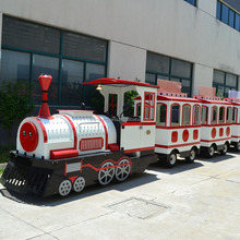suzhou tomas kids train set tourist mini elelctric trackless fun train