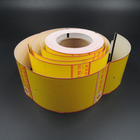 priting hangtag thermal card board paper roll