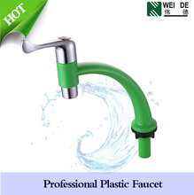green color ABS plastic body waterfall faucet