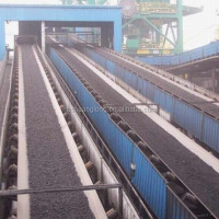 PVC&PVG rubber conveyor belt used for coal mine