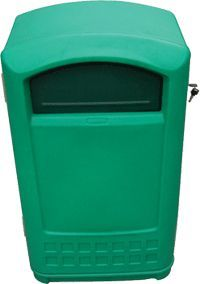 plastic customized good quality waste bin