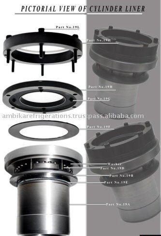 Industrial Refrigeration compressor spare part