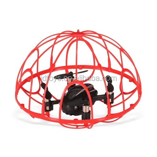 Newest Kids Radio Control Toys 2.4G Mini Tumbler Quadcopter Micro Drone with Alitutude Hold for Wholesale Toys JD-02