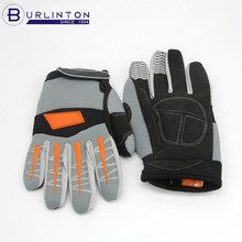 Reinforcement palm patch finger anti-slip working gloves protection