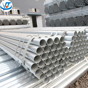 round gi steel pipe / galvanized emt conduit pipe / hot dip galvanized steel round hollow section