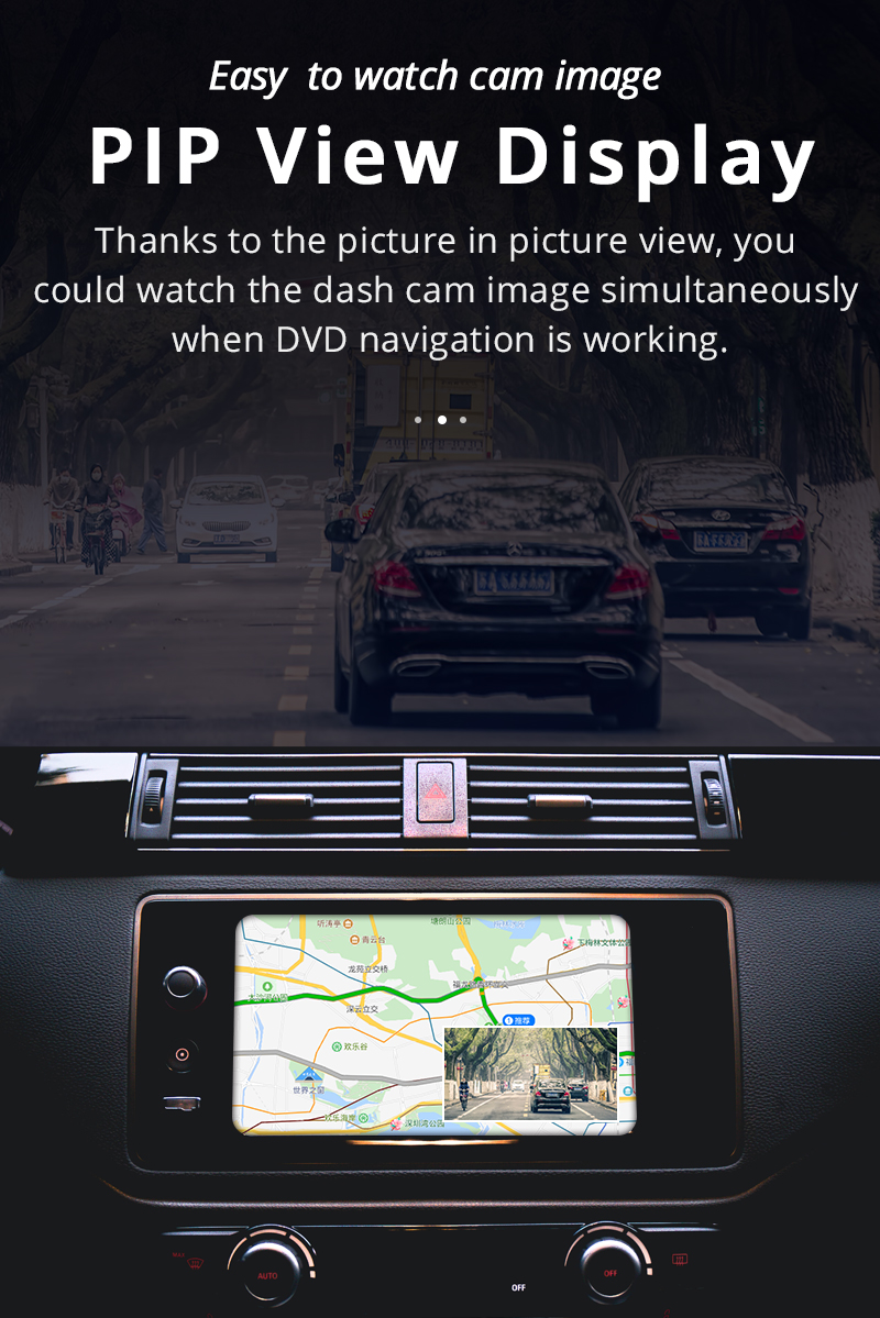 Phisung X10 ADAS Car DVRs Full HD Dash Cam Camera LDWS Auto Recorder 2018 Hidden Type for Android Multimedia player DVD