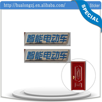 id card sticker square logs paper inside pen