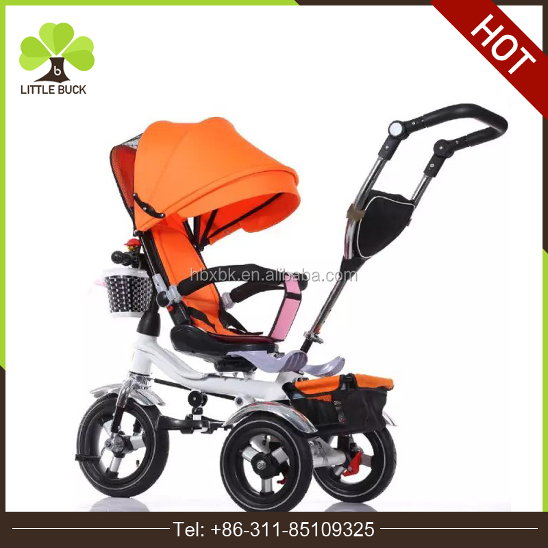 Remote control baby prams 2016 stroller / 2-in-1 baby trolley price / baby stroller bicycle on sale from china
