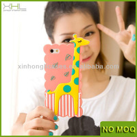 mobile phone silicone case for iphone5