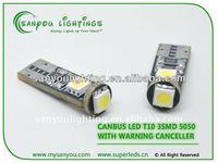 Whole sales T10 3SMD canbus electricals and lights/leds 12v motor lights