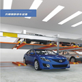 3 level Car Lift parking high quality car stacker