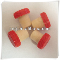 2014 HOT SALE!!!Plastic cap Synthetic cork for glass vodka bottle