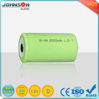 1.2v nimh D 10000mah rechargeable battery for emergency lights and power tools