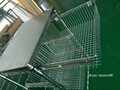 Wire Shelving Trolley With Sliding Wire Basket