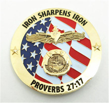 custom 3D gold america eagle military challenge coins