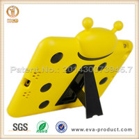 New Ladybug design eva protective cover case for ipad 5 with kickstand