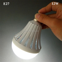 12W rechargeable emergency light bulb E27