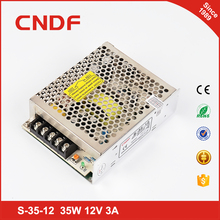 Factory outlet single output ac to dc 12v 35w led switching power supply