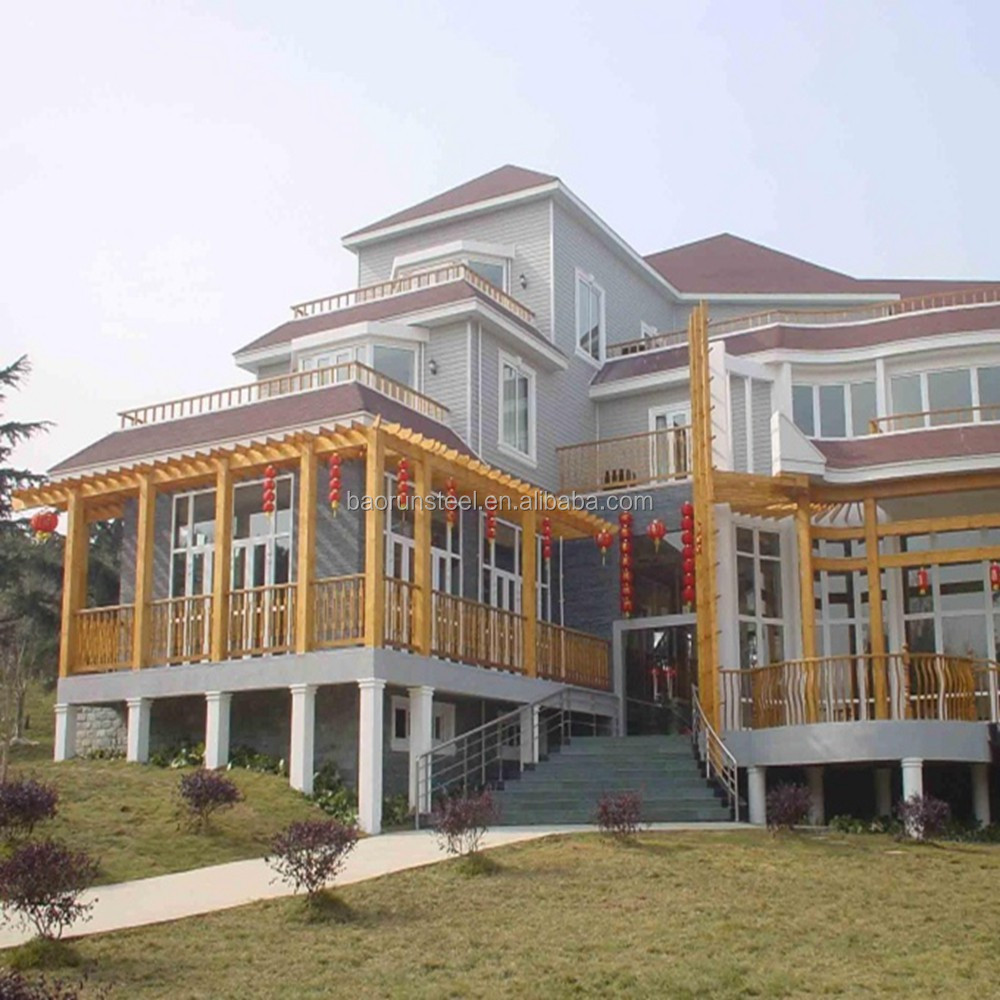 cheap ready made villa houses for Asian in alibaba