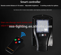 Auto on/off IP65 exterior led garden outdoor wall solar lights