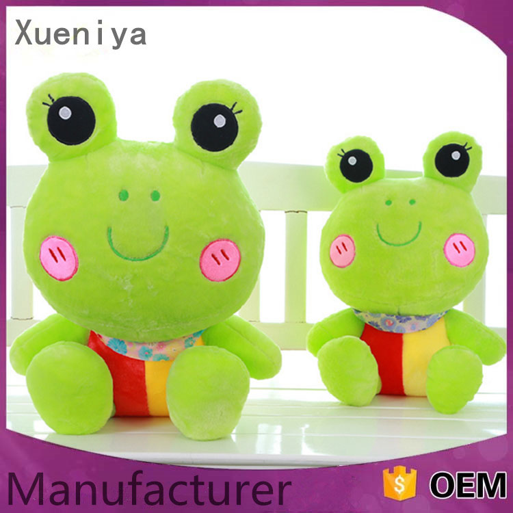 Custom Green Big Eyes For Sale Frog Stuffed Plush Children Toys Wholesale